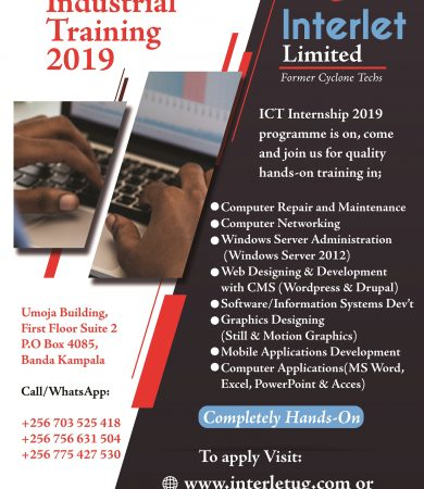 Interlet Internship poster2019
