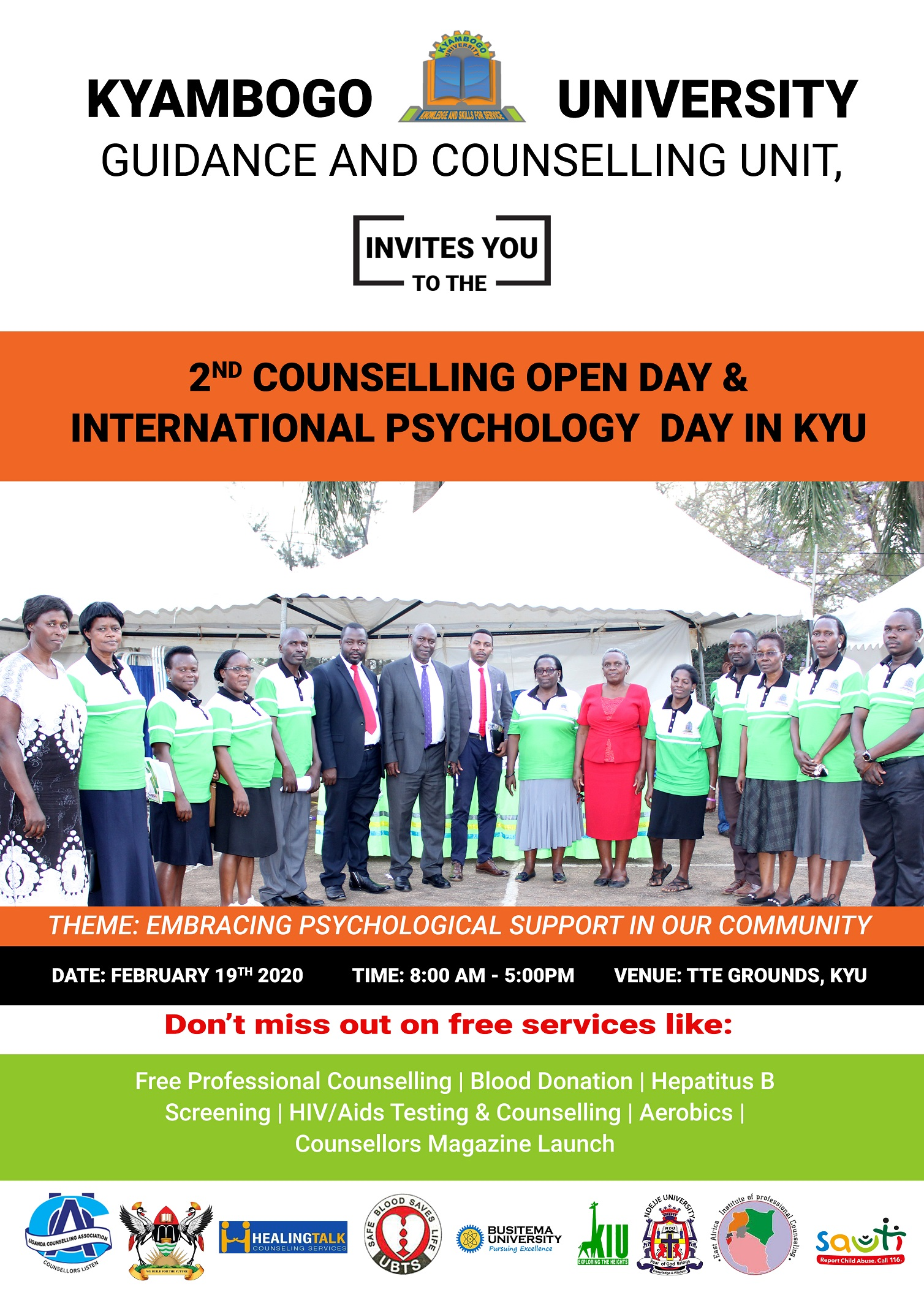 2nd counselling open day